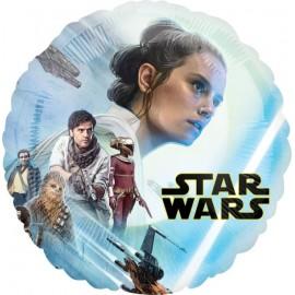 Palloncino Star Wars Swywalker Foil