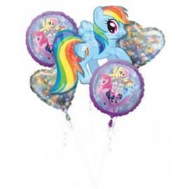 Bouquet di Palloncini My Little Pony Azzurro