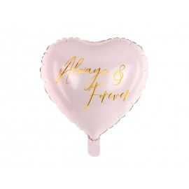 Palloncino Cuore in Foil Always & Forever 45 cm