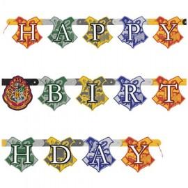 Festone Harry Potter Happy Birthday