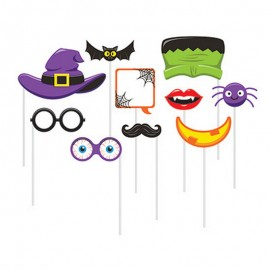 10 Accesorios Photocall Halloween Infantiles