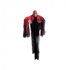 Angelo della Morte con Mantello Rosso 205 cm