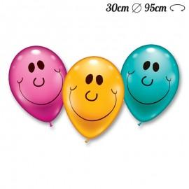 Palloncini Sorriso Rotondi 30 cm