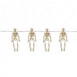 Ghirlanda di scheletri mobili