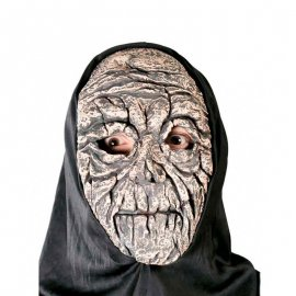 Maschera Mummia Risorta con Cappuccio