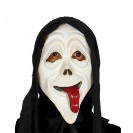 Maschera Scream con Lingua