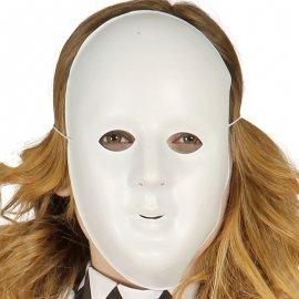 Maschera Liscia Bianca