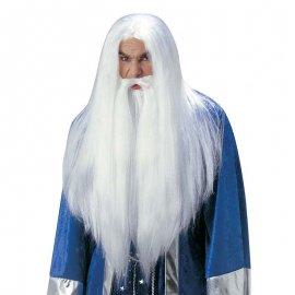 Parrucca e Barba da Mago
