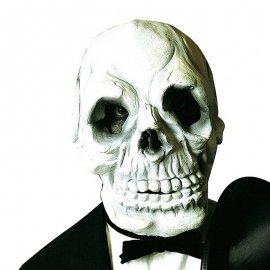 Maschera scheletro terrificante