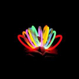 Braccialetti Luminosi Monocolore (15 pz)