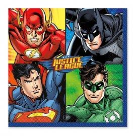 16 Tovaglioli Justice League 33 cm