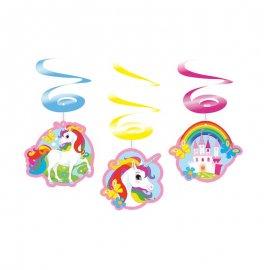 6 Ciondoli Unicorno