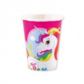 8 Bicchieri Unicorno 266 ml