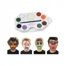 Kit Trucco Halloween 8 Colori