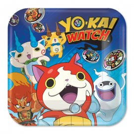 8 Piatti Yo Kai Watch 23 cm