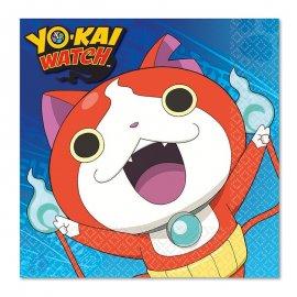 16 Tovaglioli Yo Kai Watch 33 cm