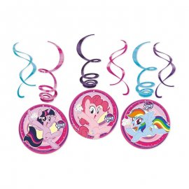 6 Decorazioni Appese My Little Pony