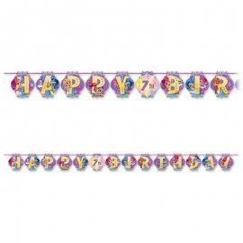 Festone Shimmer & Shine Happy Birthday