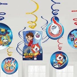 6 Ciondoli Yo Kai Watch