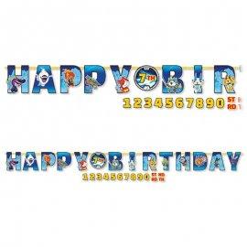 Festone Yo Kai Watch Happy Birthday