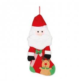 Calzino da Babbo Natale 50 cm