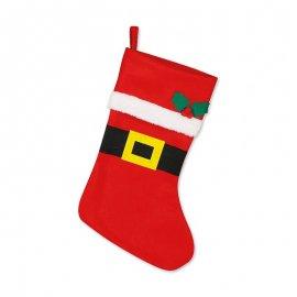 Calzino da Babbo Natale 44 cm