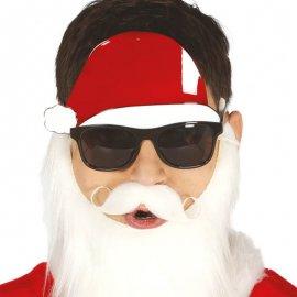Occhiali con Berretto di Babbo Natale
