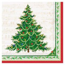 Tovaglioli Albero Di Natale 33 cm