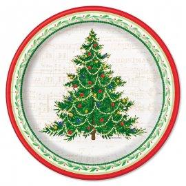 Piatti Albero Di Natale 26 cm