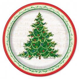 Piatti Albero Di Natale 18 cm