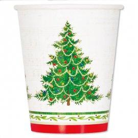 Bicchieri Albero Di Natale 266 ml