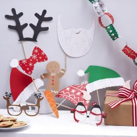 10 Accessori Natale Per Photo Booth