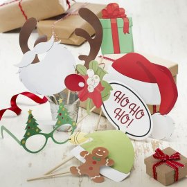 Accessori Vintage Natale per PhotoBooth