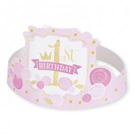 6 Corone Primo Compleanno Bambina