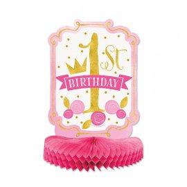 Centrotavola Primo Compleanno Bambina