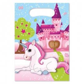 6 Sacchetti Unicorno