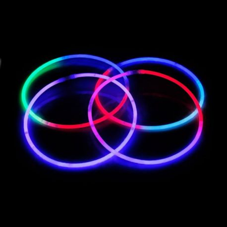 Collane Luminose Tricolore (50 pz)