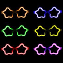 Occhiali Fluorescenti Stella Pack