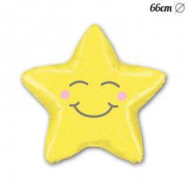 Palloncino Stella Sorriso Foil 66 cm