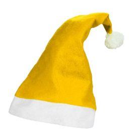 Cappello di Babbo Natale Giallo