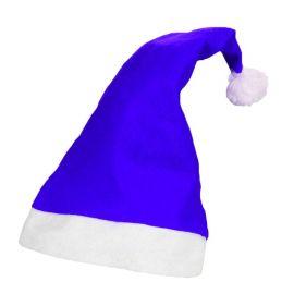 Cappello di Babbo Natale Blu