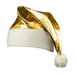 Cappello di Babbo Natale Dorato