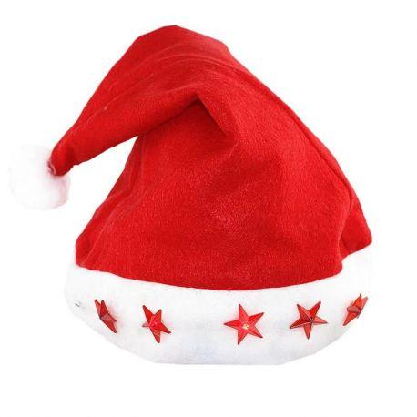 Cappello di Babbo Natale con Luci Led 3af627790f22