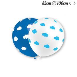Palloncini Nuvole Rotondi 32 cm