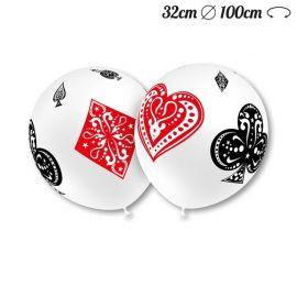 Palloncini Poker Rotondi 32 cm
