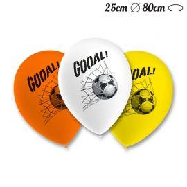 Palloncini Calcio Pack Rotondi 25 cm