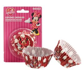50 Pirottini Minnie per Cupcake