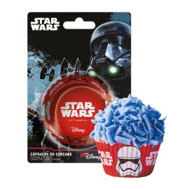 50 Pirottini Star Wars per Cupcake