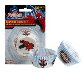 50 Pirottini Spiderman per Cupcake