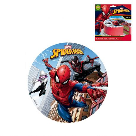 Disco Spiderman di Zucchero Senza Glutine